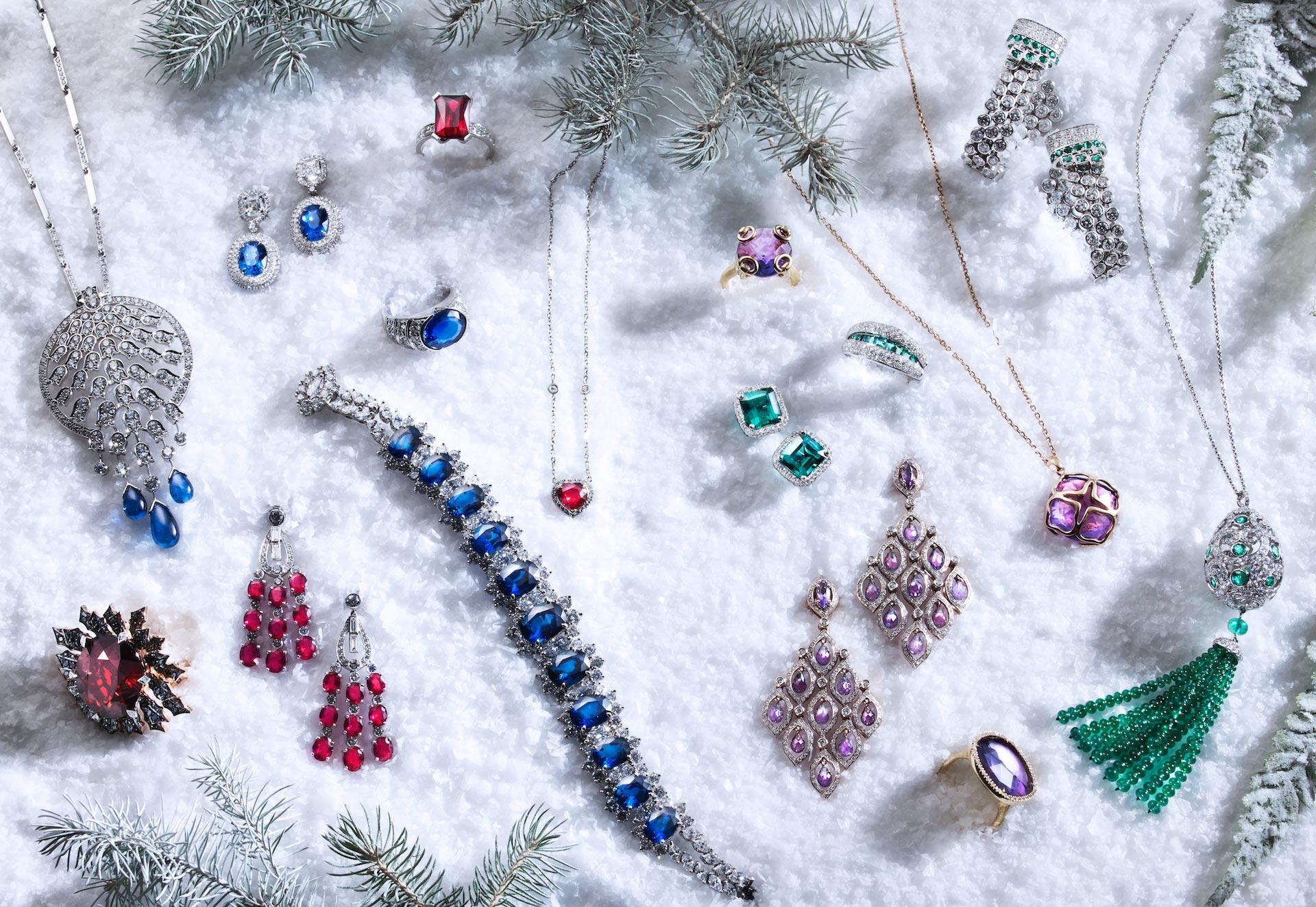 Fashion diamond jewellery