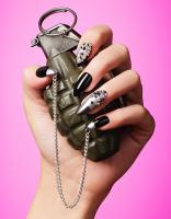 151 Still Life Product Photographer Dennis Pedersen Beauty Cosmetic Hand Grenade Nails Advertising Editorial Creative