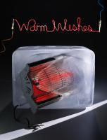 247 XMAS WISHES-Still Life Product Photographer Dennis Pedersen advertising editorial creative liquid ice frozen cold block cube electric fire heater warm glow wire melt defrost