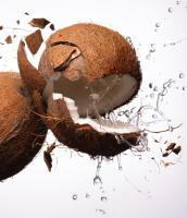 306 MC-78-20-Still life product photographer Dennis Pedersen food drink coconut liquid splash smash action drip