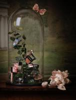 041 Still Life Product Photographer Dennis Pedersen Beauty Cosmetic Illamasqua Victorian Bell Jar  Advertising Editorial Creative