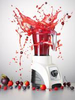 Harrods-1-MS-D175juicer-Still Life Product Photographer Dennis Pedersen advertising editorial creative drinks liquid smoothie juice blender splash explosion action highspeed fruit berry food