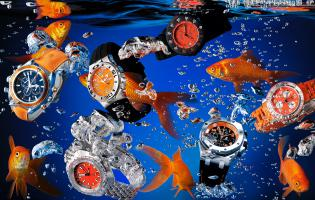 Live-3-157-scuba-watches-final-Stilllife product photographer creative advertising editorial fashion style jewellery water liquid splash watch watches bubbles fish sea ocean deep underwater