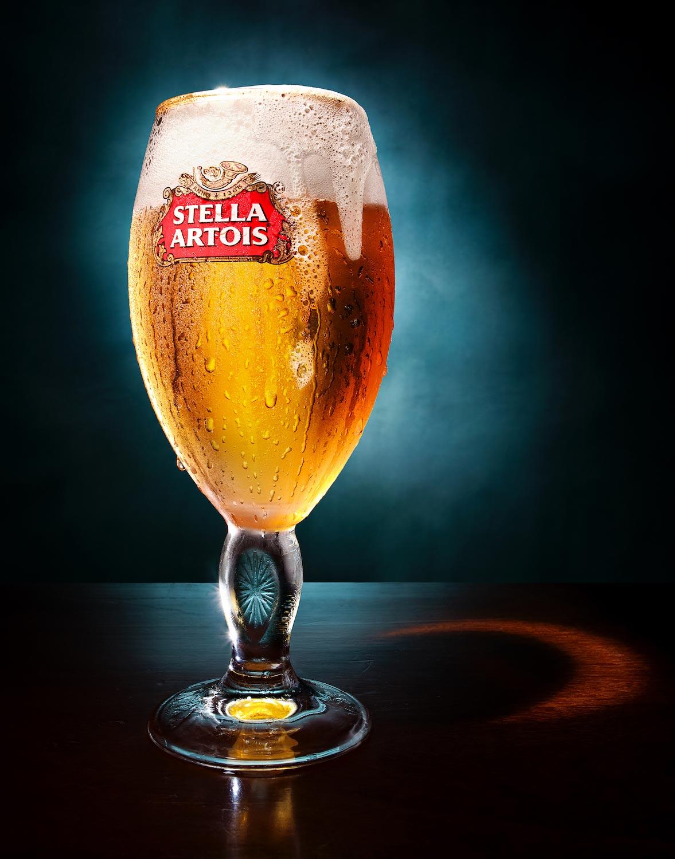 still drink beer advertising alcohol food dennis pedersen stella artois photographer bar photographers drinks commercial creative cold pub portfolio london