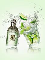 114 Still Life Product Photographer Dennis Pedersen Fragrance Cocktail Lime Mint Guelain Drink Liquid Advertising Editorial Creative