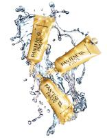 126 K-1241-Still Life Product Photographer Dennis Pedersen advertising editorial creative fashion style cosmetics beauty makeup hair oil cream gold sparkle liquid splash droplet water fresh clean sun light ping bling sparkle hair pantene pro