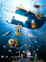 011 Still Life Product Photographer Dennis Pedersen Lego deep sea Liquid Water Advertising Editorial Creative