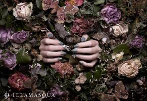 0011 Still Life Product Photographer Illamasqua advertising cosmetic once