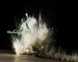 Still Life Product Photographer Toy Soldier Explosion Powder