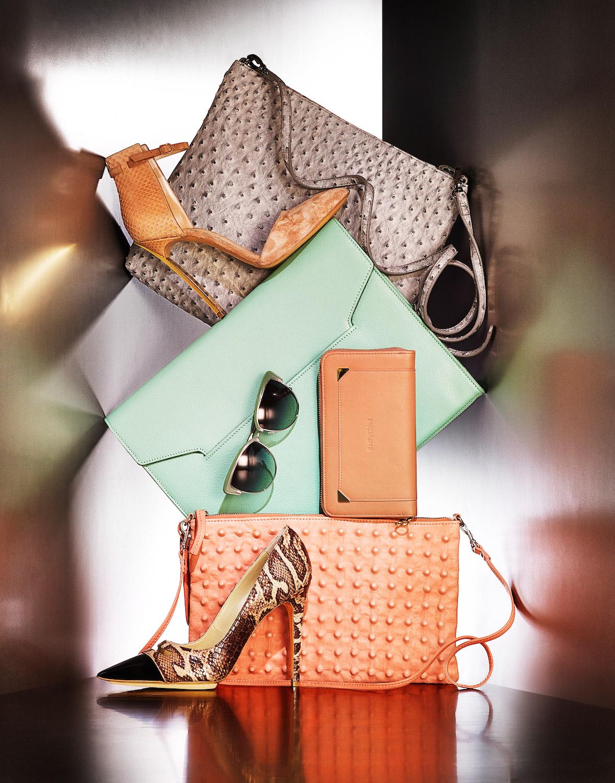 still photographer accessories shoes bags dennis pedersen bag shoe editorial clutch handbag london portfolio photographers advertising pastel shoot paris york